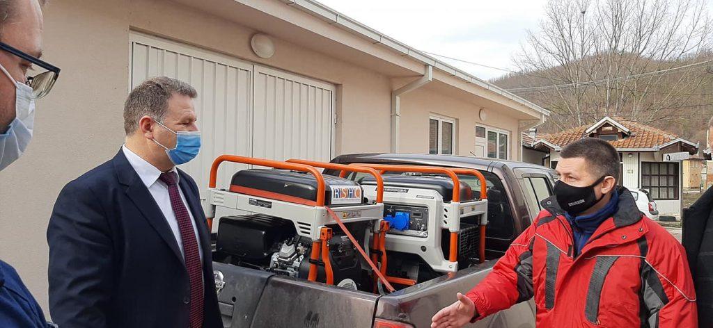 Donacija Rusko-srpskog humanitarnog centra opštini Medveđa