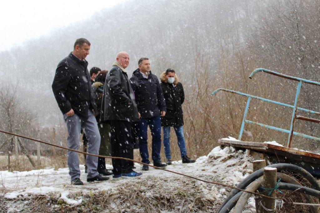 Zoran Stanković obilazio ugrožena područja oko Medveđe: Situacija je veoma teška