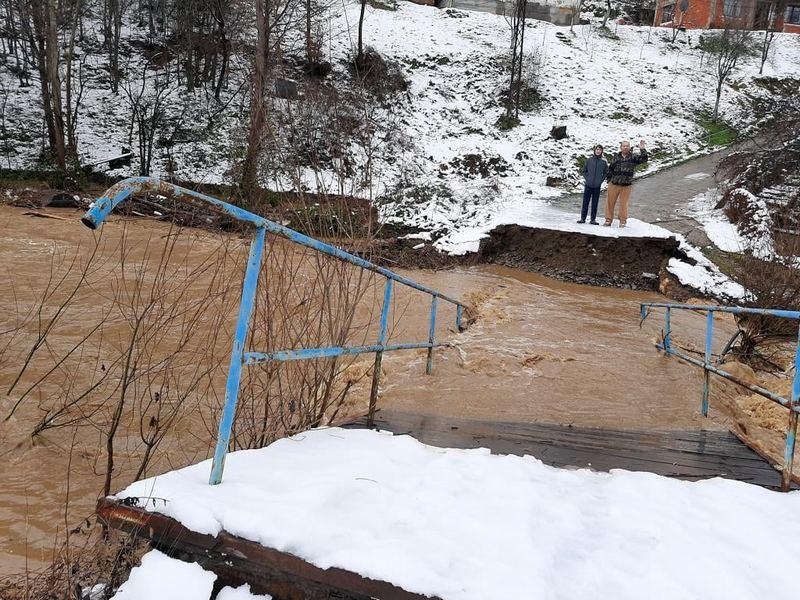 Na Štabu za vanredne situacije doneta odluka da se saniraju mostovi porušeni u poplavama na teritoriji opštine Medveđa