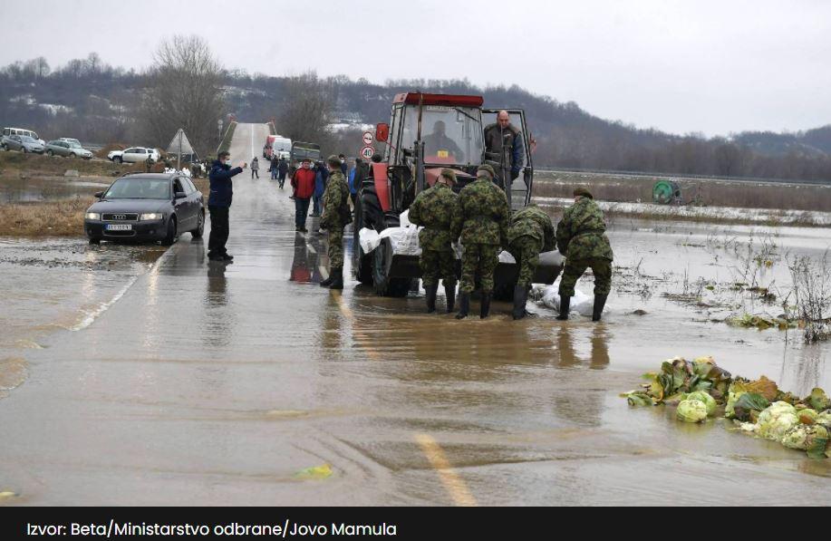 Momirović u Bojniku najavio obnovu putne infrastrukture u poplavljenim područjima