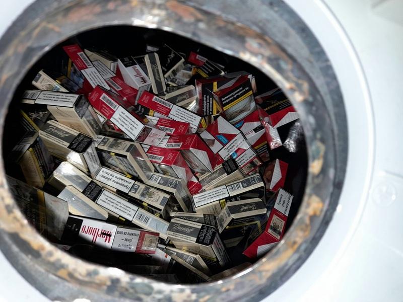 Bojler napunjen paklicama cigareta