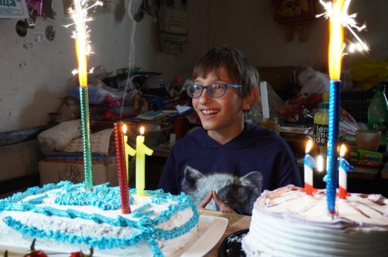Rođendansko iznenađenje za malog Jovana, jedino dete iz Oruglice