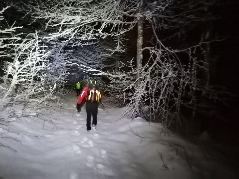 Posle 13 sati traganja pronađen izgubljeni skijač na Staroj planini