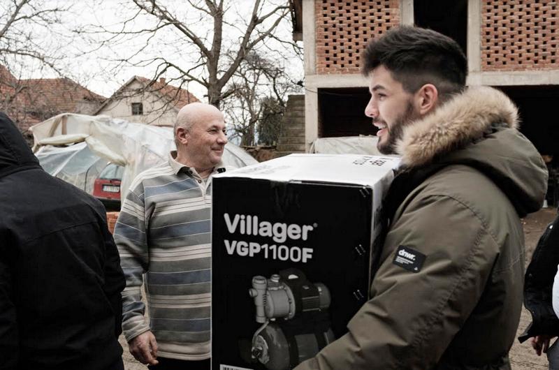 """Humanitarna organizacija """"Pokreni život"""" procenjuje štetu od poplava u Leskovcu"""