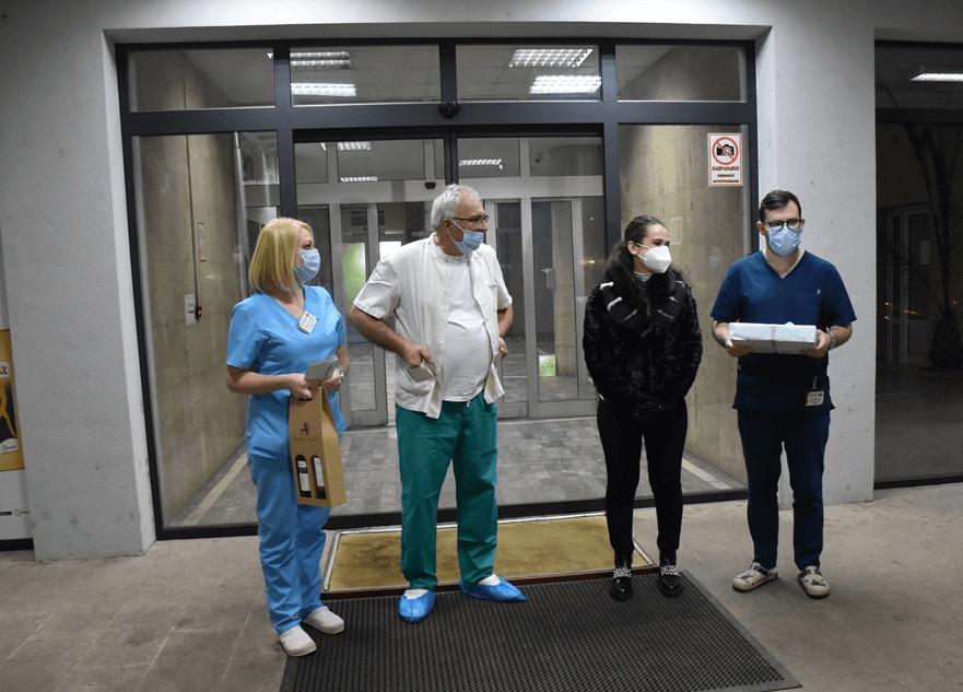 Lenka prva beba rođena u Leskovcu u 2021. godini