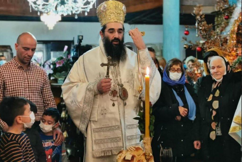 Vladika niški Arsenije služio liturgiju u Pirotu
