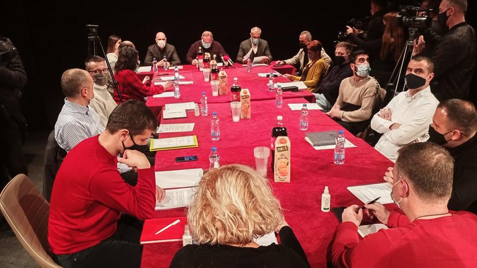 Sastanak profesionalnih pozorišta Srbije održan danas u Leskovcu