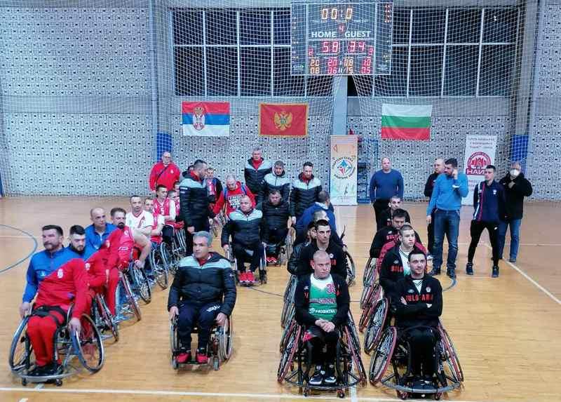 Bojnik sjajan domaćin prvog turnira reprezentacija u košarci u kolicima