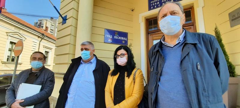GG Za Leskovac zajedno: I po okončanju pandemije nosićemo maske zbog zagađenog vazduha u Leskovcu