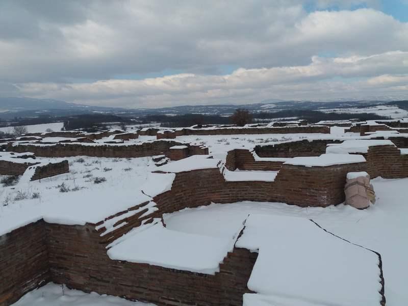 Vekovi usnuli pod snegom na Caričinom gradu, Radanskoj svetoj gori