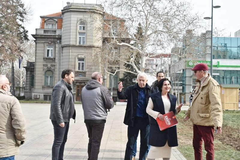 I Dveri reagovale zbog seče drveća u centru Niša