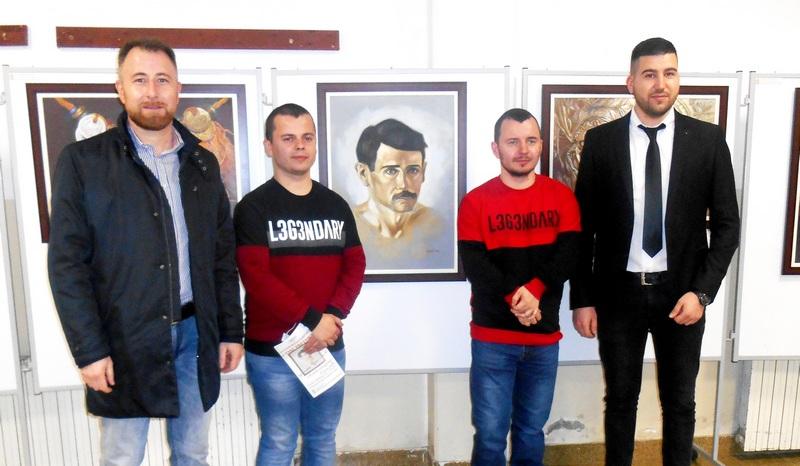 Otvorena izložba Aleksandra Spasića inspirisana delom Hristifora Crnilovića