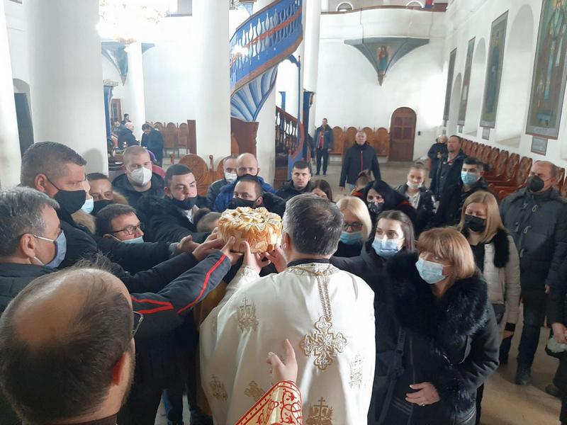 Jedinstvena Srbija u Vranju obeležila svoju slavu
