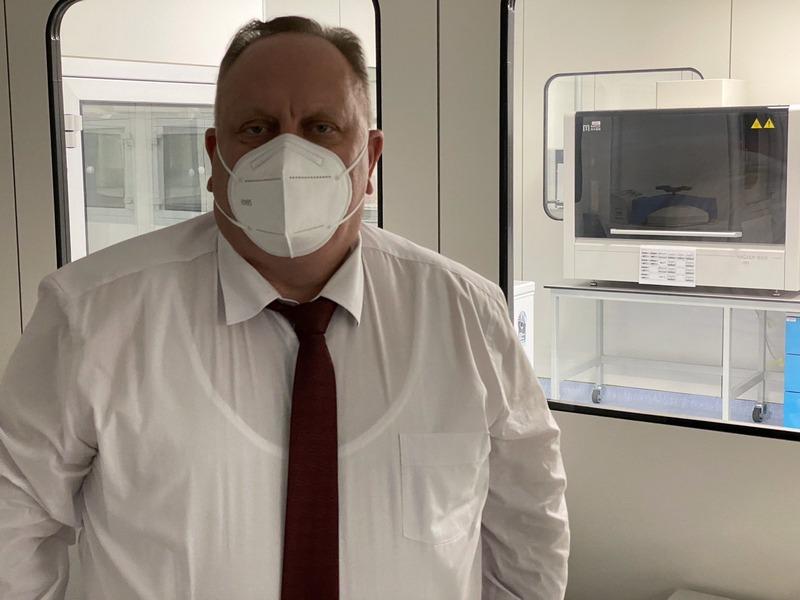 """Gradonačelnik Leskovca tokom vikenda obišao laboratoriju """"Vatreno oko"""""""