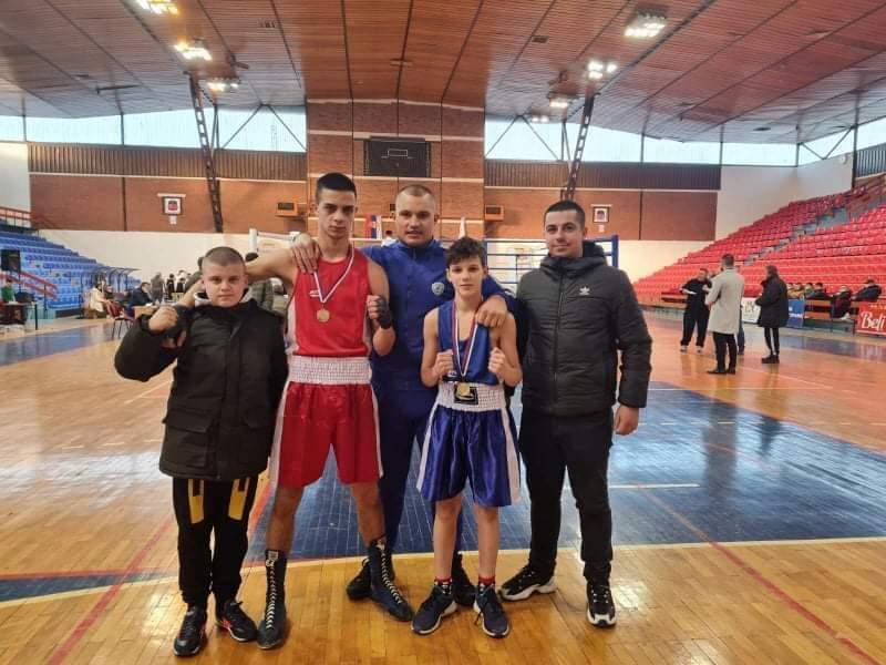 Novi uspeh boksera Bokserskog kluba Radan iz Lebana