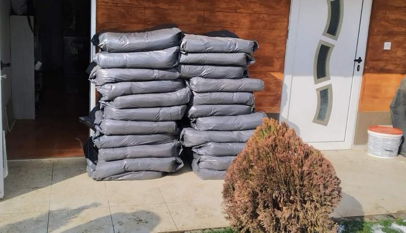 Uhapšen Leskovčnanin kod koga je pronađeno 467 kilograma rezanog duvana