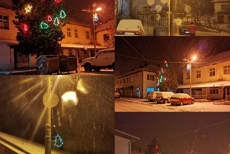 NS: U Trgovištu još svetle novogodišnji ukrasi