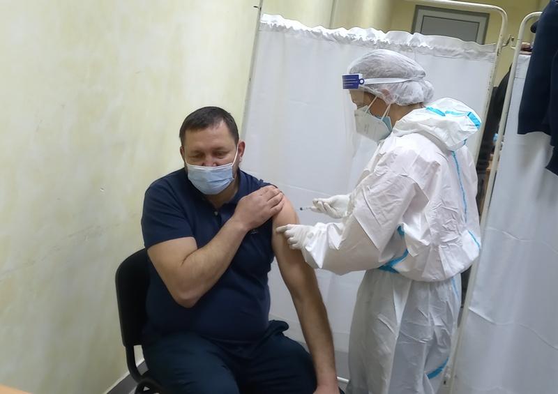 Pirot:Novi vakcionalni punkt u Tehničkoj školi