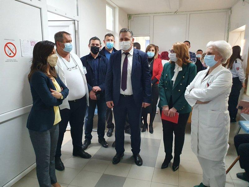 Ministarka Obradović:  Medveđa često spominje u Vladi Srbije kao jedna od najaktivnih opština
