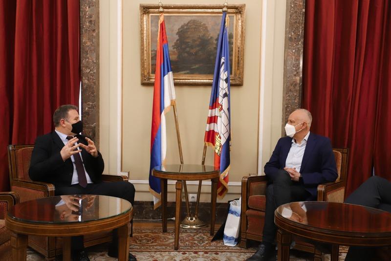 Predsednik opštine Medveđa u Starom dvoru sa gradonačelnikom Beograda o uspostavljanju saradnje sa nekom od gradskih opština