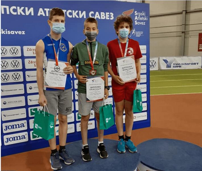 Zlato za Nikolu Kocića iz Vlasotinca na Prvenstvu Srbije