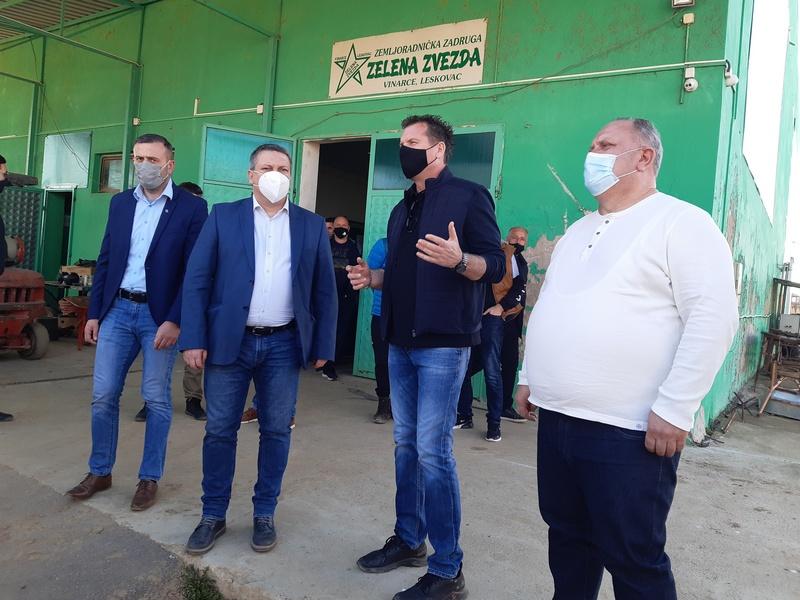 Pomoćnik ministra poljoprivrede u Leskovcu: Važno je da se poljoprivredna gazdinstva udružuju