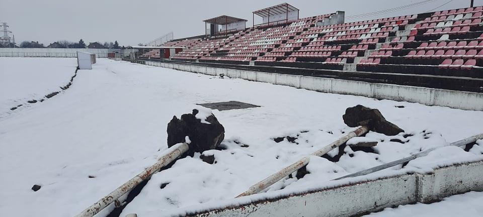 Počele pripreme za rušenje Gradskog stadiona u Leskovcu (foto)