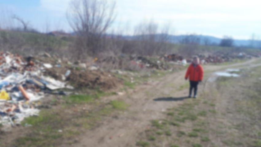 Užas na šetalištu pored kanala koji se uliva u Jablanicu