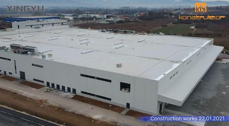 Otvarnje kineske fabrike sa 1.000 radnih mesta sredinom aprila