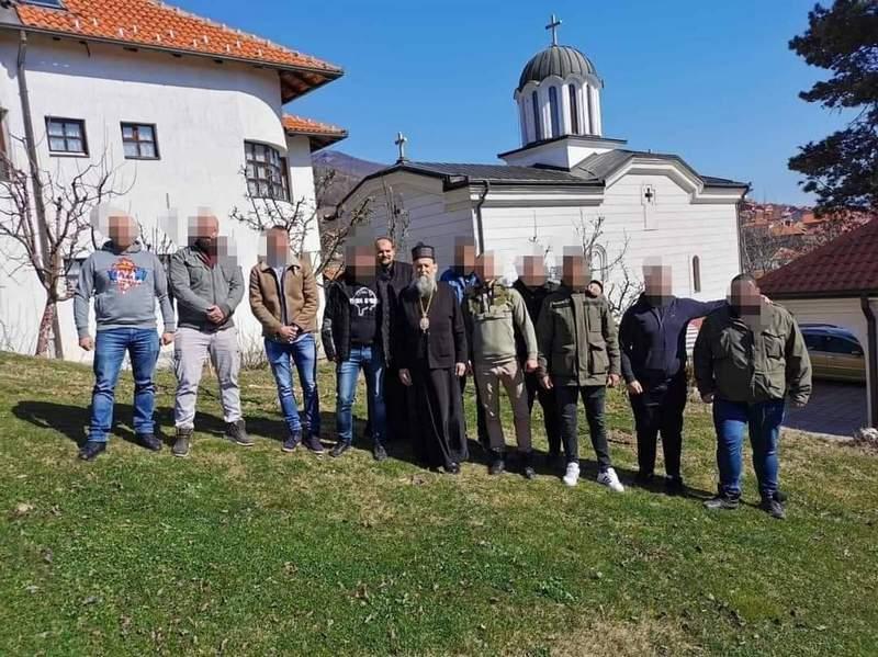 Navijači Partizana donirali sredstva za freskopisanje manastira