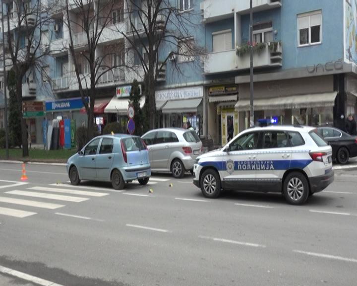 Povređena žena na pešakom prelazu u centru Leskovca