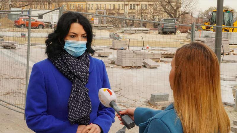 """Gradonačelnica Niša pružila još jednu šansu firmi """"Bauvezen"""" za završetak Trga"""