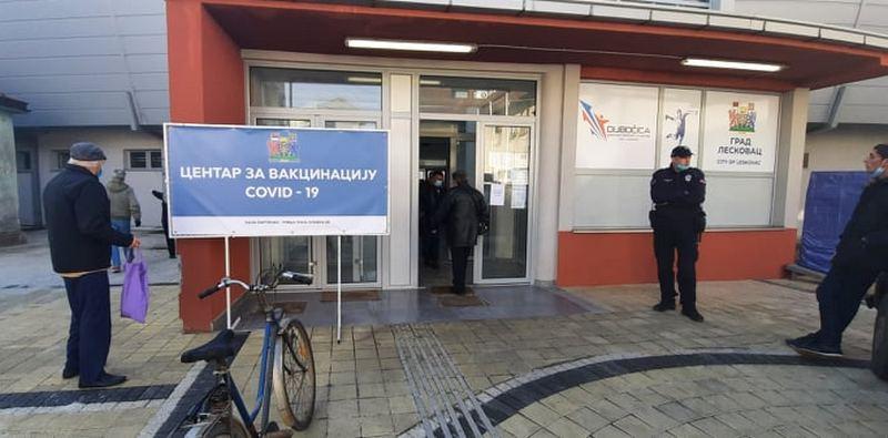 U Srbiji se vakcinisalo 22.000 stranaca, u Leskovcu samo revakcinacija