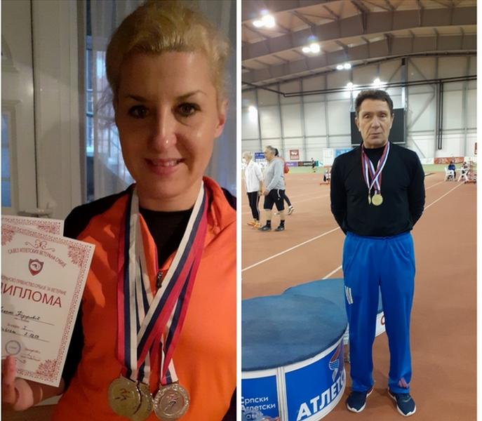 Leskovački veterani osvojili 5 medalja na Prvenstvu Srbije