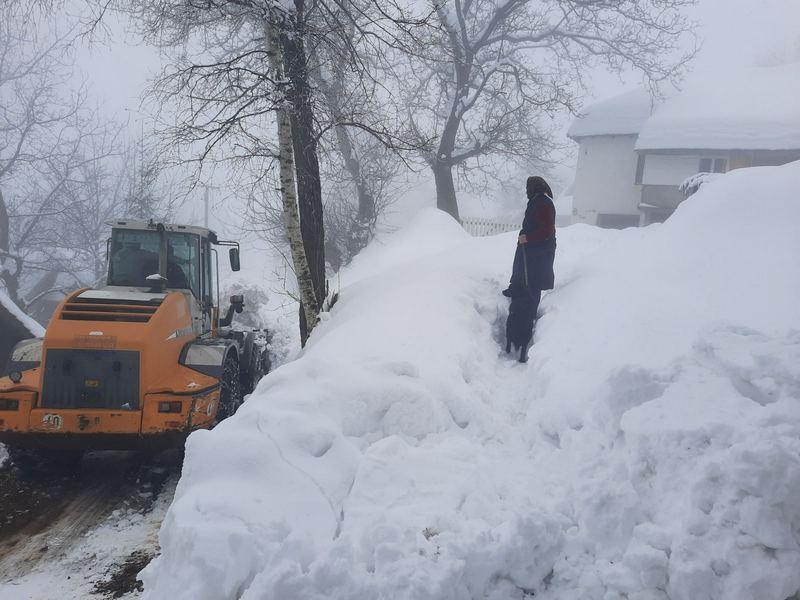 Novi sneg i novi nevolje meštana vlasotinačke opštine, Donja Lopušnja i bez struje