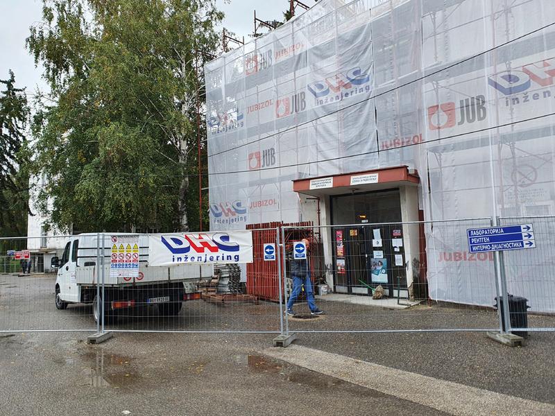 Radovi na rekonstrukciji Opšte bolnice odvijaju se prema planu, kažu nadležni