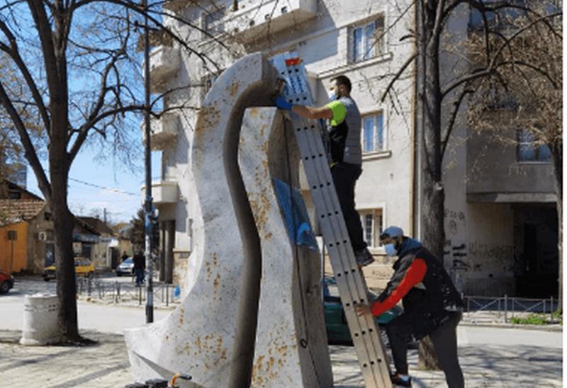 Počelo uređenje i čišćenje spomenika u Leskovcu
