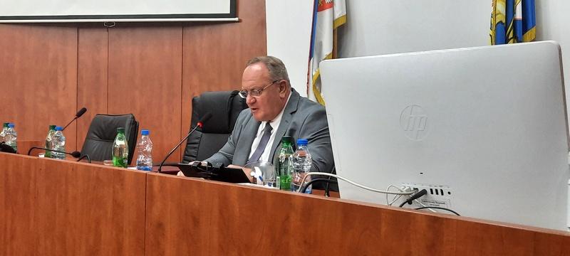 Cvetanović po treći put izabran za predsednika Centra za razvoj Jablaničkog i Pčinjskog okruga, gradonačelnik Vranja za potpredsednika
