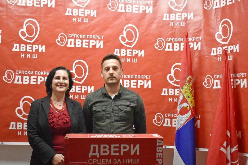 "Dveri predstavile svoj program za sport ""Promena sistema-sport za sve građane Niša"""