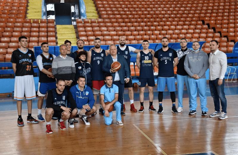 Za košarkaše Zdravlja od grada Leskovca 13 do 15 miliona dinara zbog ulaska u prvu ligu