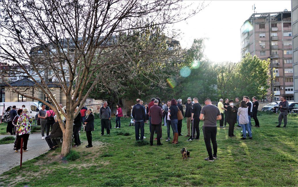 Park koga su juče protestom branili Leskovčani tri puta menjao vlasnika