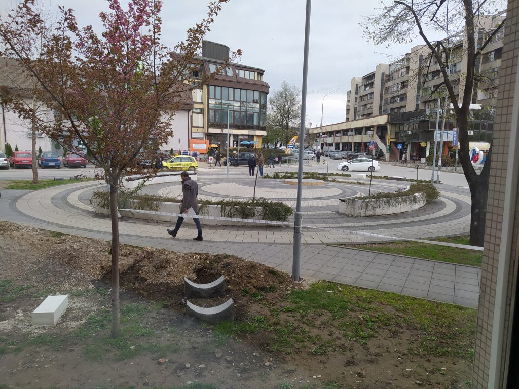 Narodni muzej postavlja lapidarujum na trgu (foto, video)