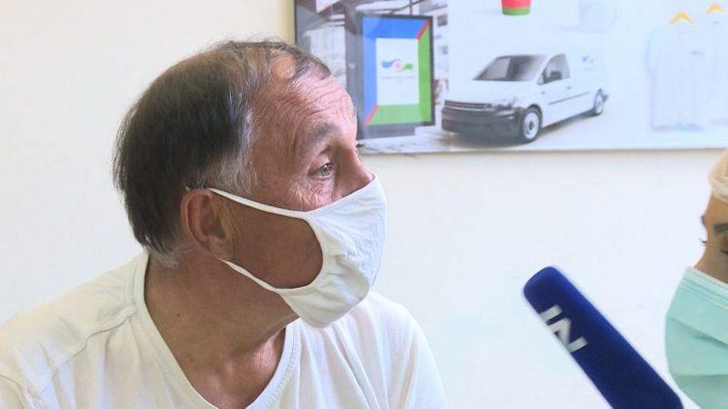 """Nišlija primio """"Rajfajzen"""" vakcinu i nasmejao celu Srbiju (VIDEO)"""