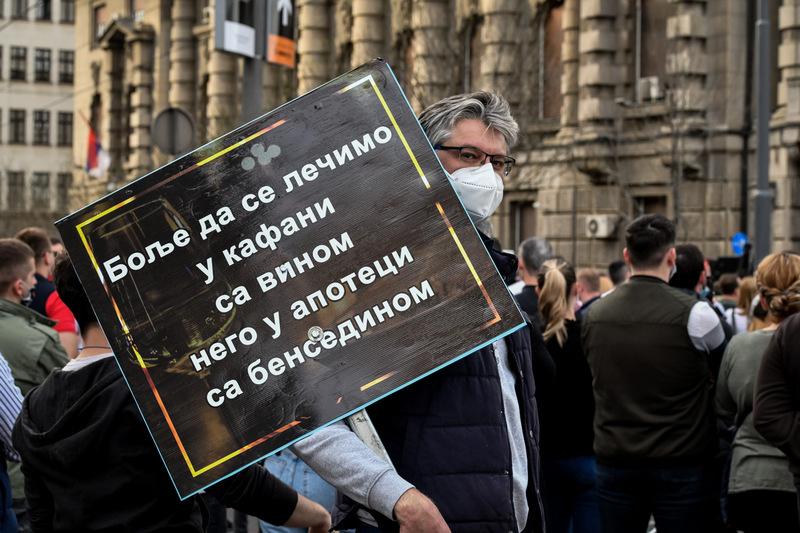 Prvi protest za opstanak ugostitelja: Na kocki je egzistencija ogromnog broja ljudi