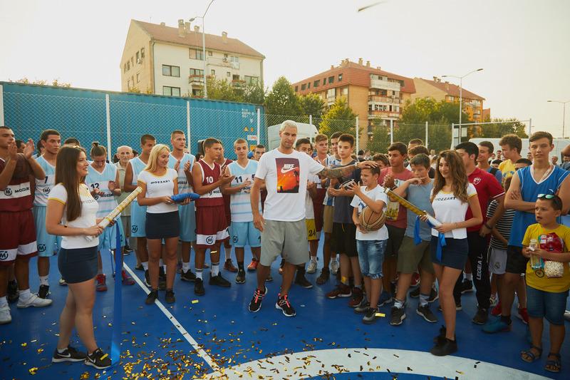 Plejmejker Srbije Stefan Jović bira mlade talentovane košarkaše u Nišu