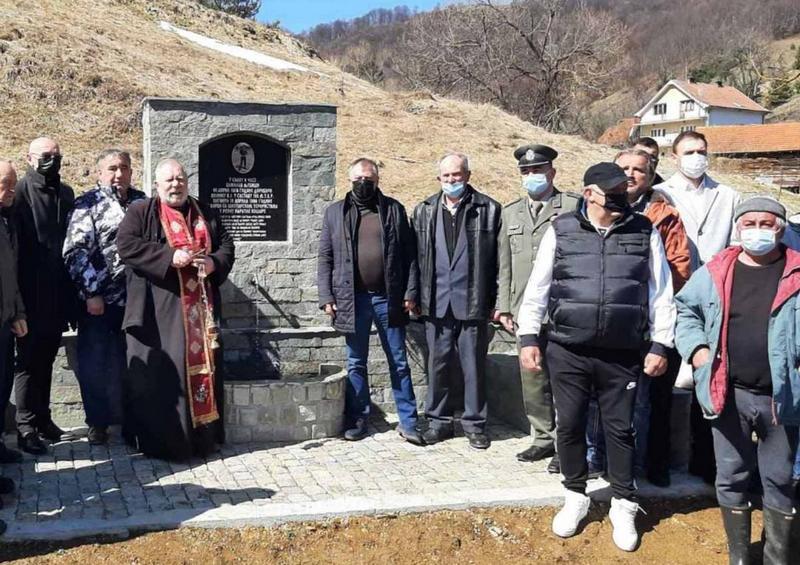 Ministar Tončev na otkrivanju spomenika vojnika Ljubiše Božilova iz Surdulice