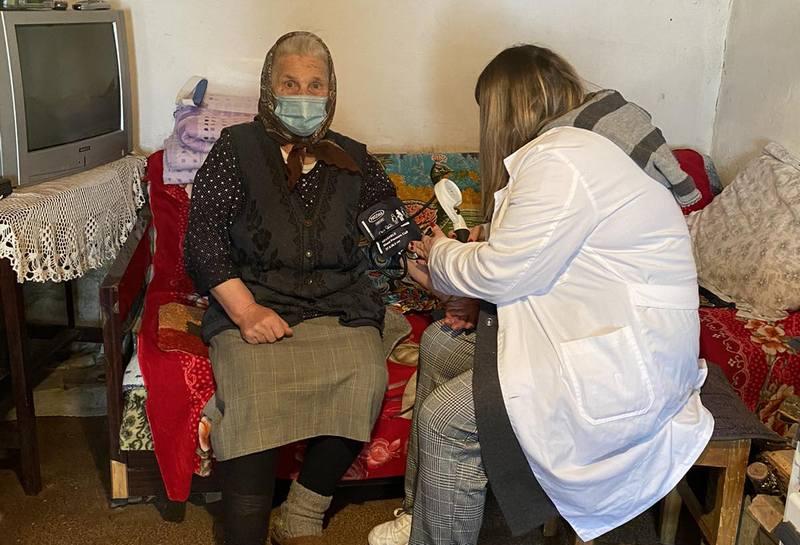 Vakcinacija starih i nepokretnih stanovnika Vlasine