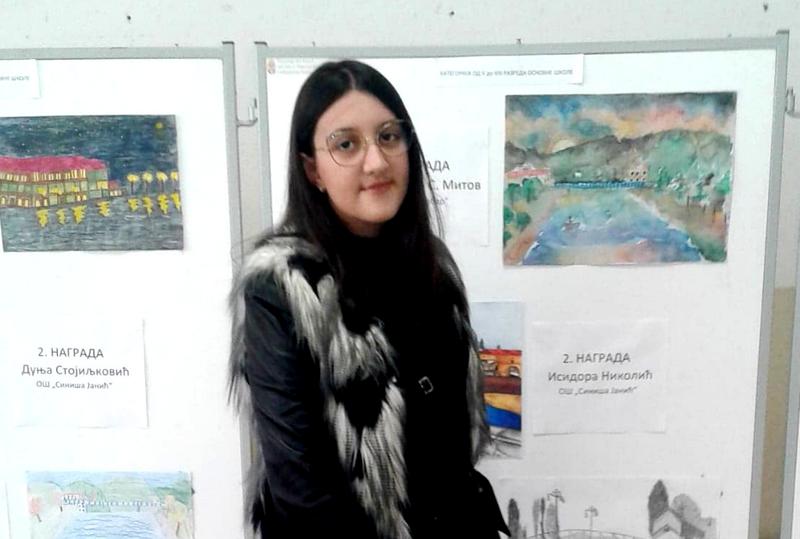 Nekad je bila učenica profesora Nebojše Mitrovića Puše, a sad osvojila prvu nagradu na konkursu u čast čuvenog umetnika