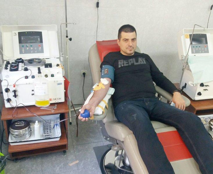 Posle preležane korone donirao krvnu plazmu
