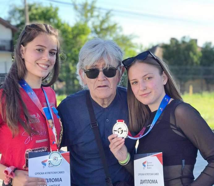 Marija Papović i Tanja Antić osvojile srebro na Prvenstvu Srbije u atletici